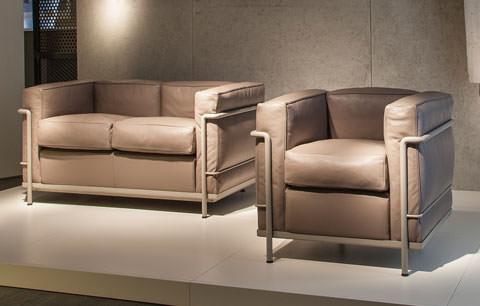 Cadeira LC2 e sofá LC2 / 2