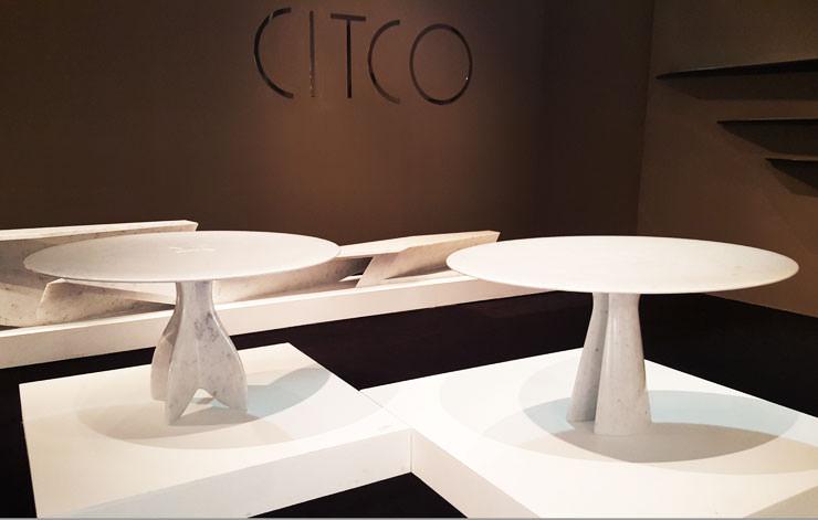 Mesas Hadrian e Hadriana da Foster + Partners para Citco no Salone del Mobile Milan