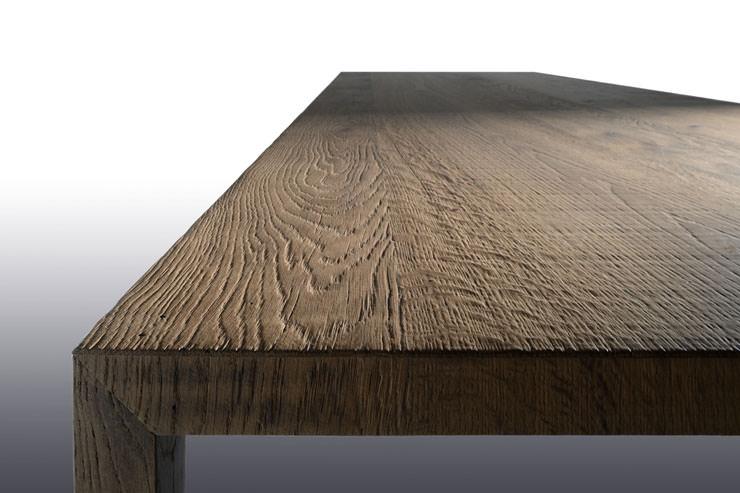 Folheado de madeira - Mesa tensa by MDF Italia no Salone del Mobile Milan