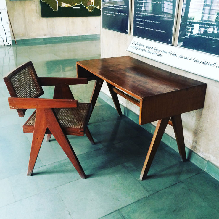 Jeanneret V-Chair Chandigarh ARAM