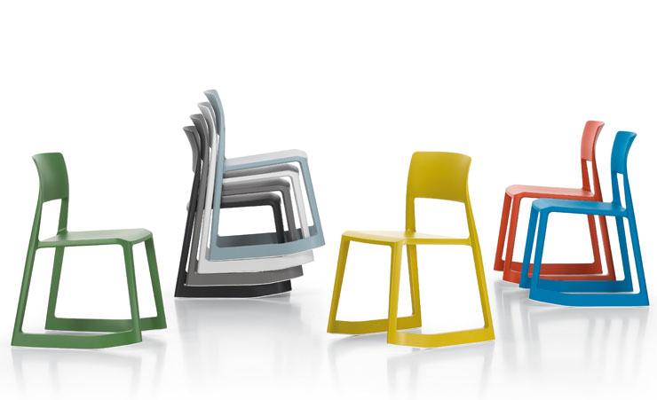 Cadeira Tip Ton Barbeiro e Osgerby Vitra Aram Store