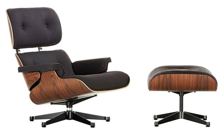 Sarja Eames Lounge Chair e otomana Vitra Aram Store