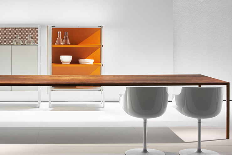Mesa para materiais tensos MDF Italia Aram Store