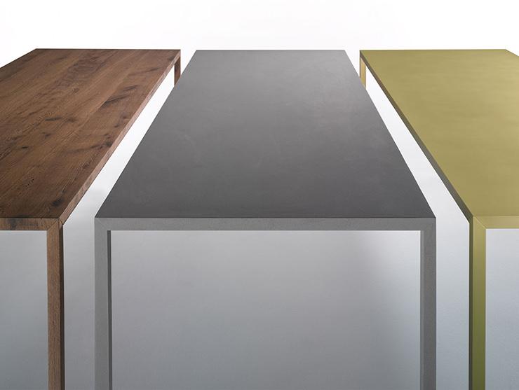 Mesas tensas de material MDF Italia Aram Store