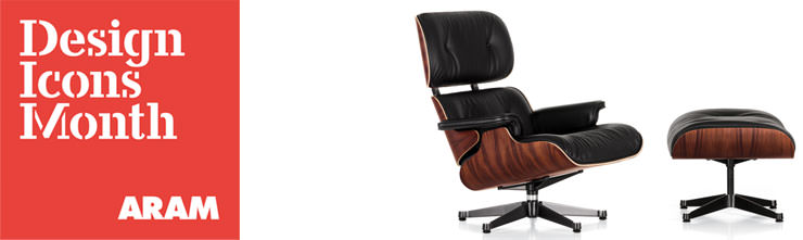 Design Icons Month - Eames Lounge Chair
