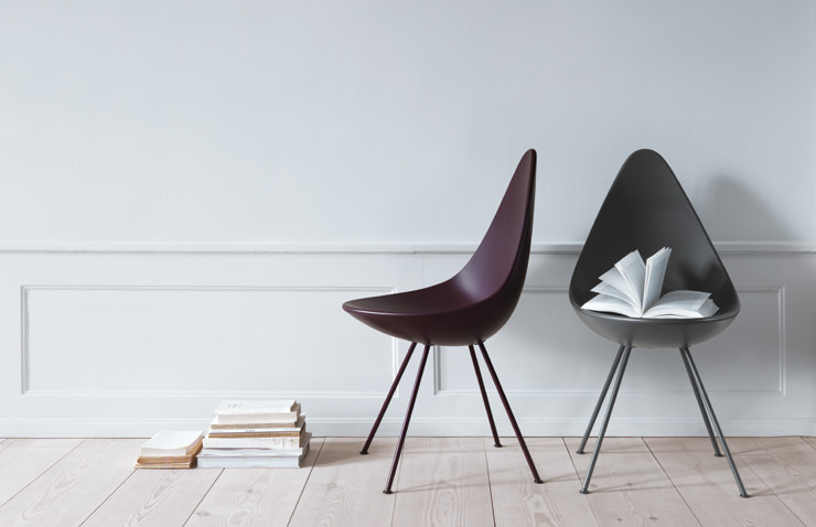 Drop Chair 1958 Arne Jacobsen Fritz Hansen