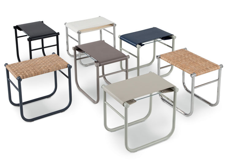 LC9 Stool Charlotte Perriand Cassina