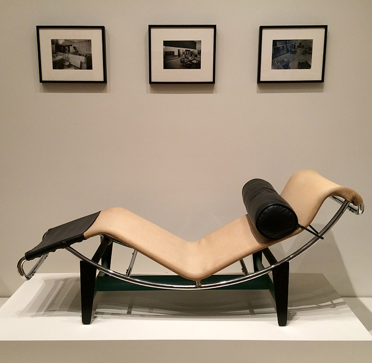 Le Corbusier Charles - Jeanardet Pierre Jeanneret, Charlotte Perriand Chaise Longue LC / 4 MoMA