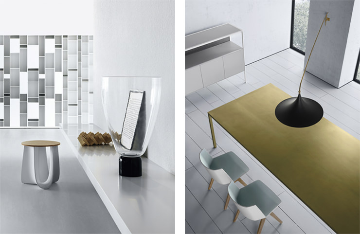 Mobiliário de MDF Italia Aram Store