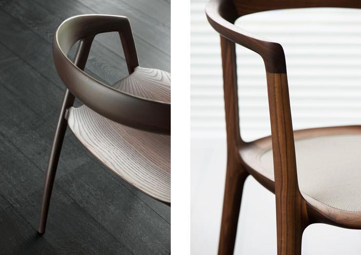 Cadeiras DC09 e DC10 Miyazaki Chair Factory