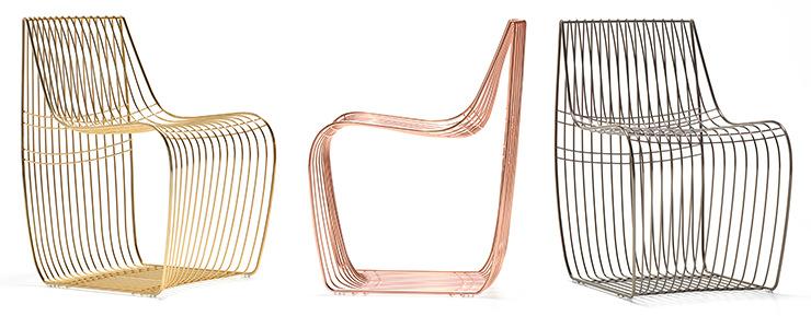 Sinal Cadeira de jantar de filo Piergiorgio MDF Italia Aram Store