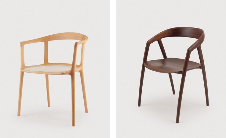 Cadeiras DC10 e DC09 Miyazaki Chair Factory