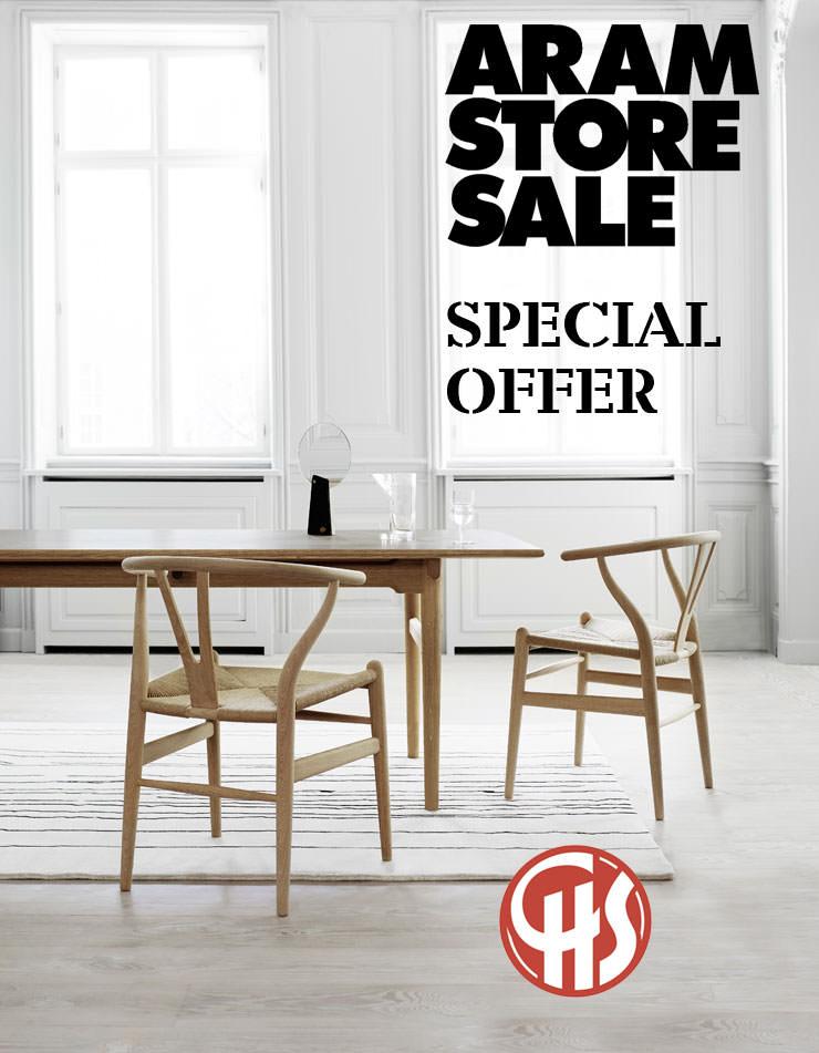 Oferta de mesa de jantar e cadeira - Aram Store Summer Sale 2018