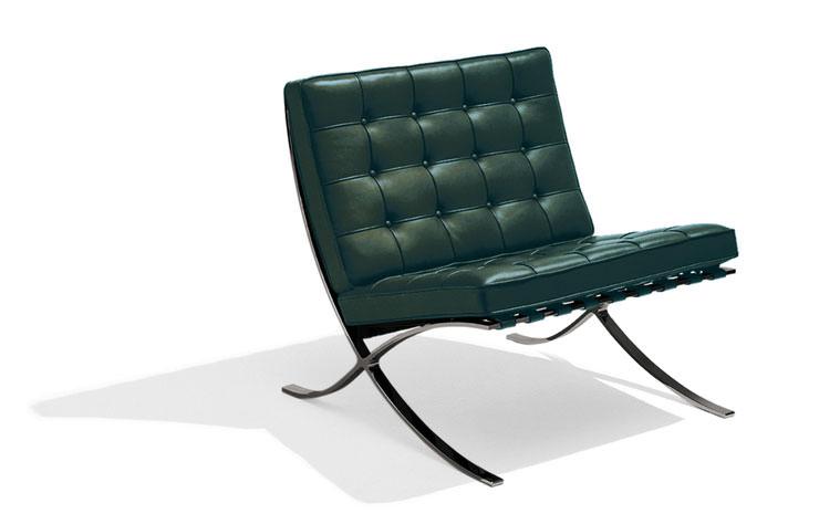 Cadeira Barcelona Bauhaus Edição Knoll International Aram Store