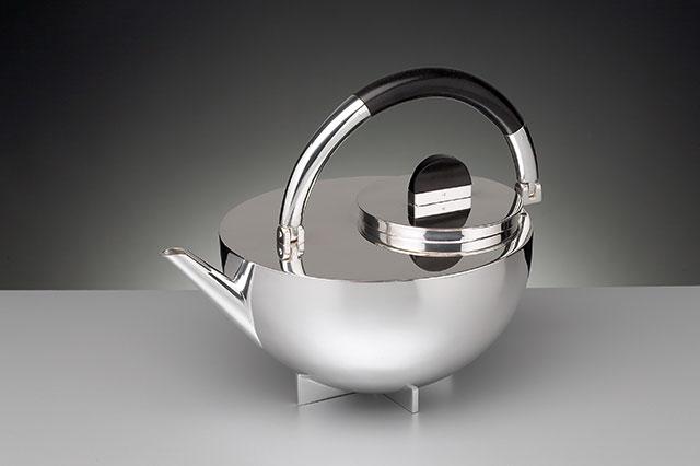 Marianne Brandt Sterling Silver Teapot 1924