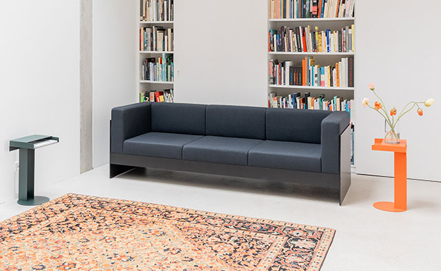 Meta side table and Standard Sofa by New Tendency