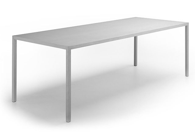 Tense Material Concrete table in the Aram Store winter sale