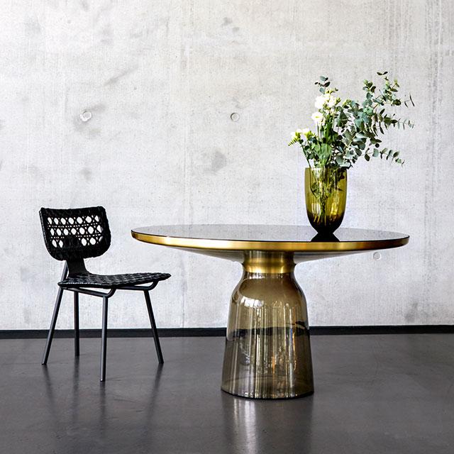 Bell Dining Table by Sebastian Herkner