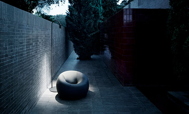 Caule F4 floor lamp for outdoor use