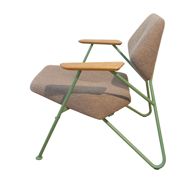 Clearance: ex display Polygon lounge chair