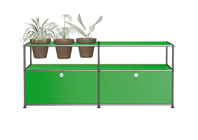 USM Sideboard with Flowerpots