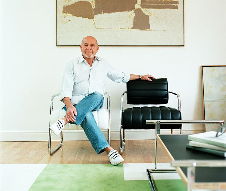 Zeev Aram with Bonaparte Chairs
