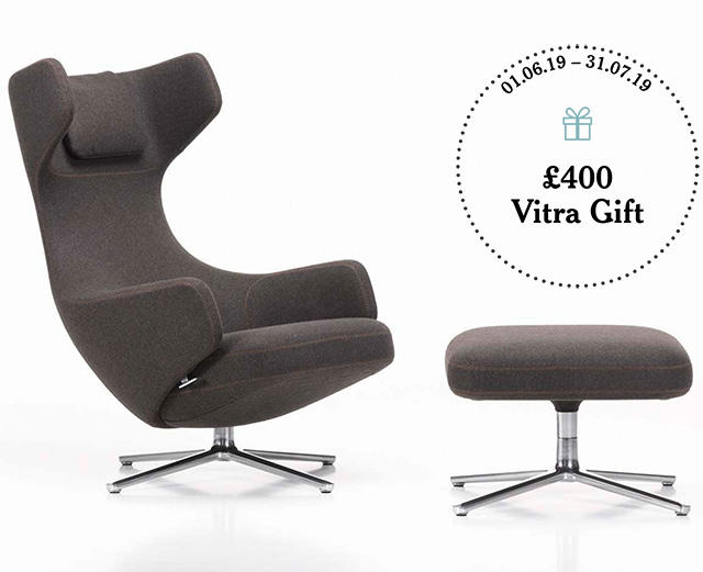 Grand Repos Lounge Chair & Otomano