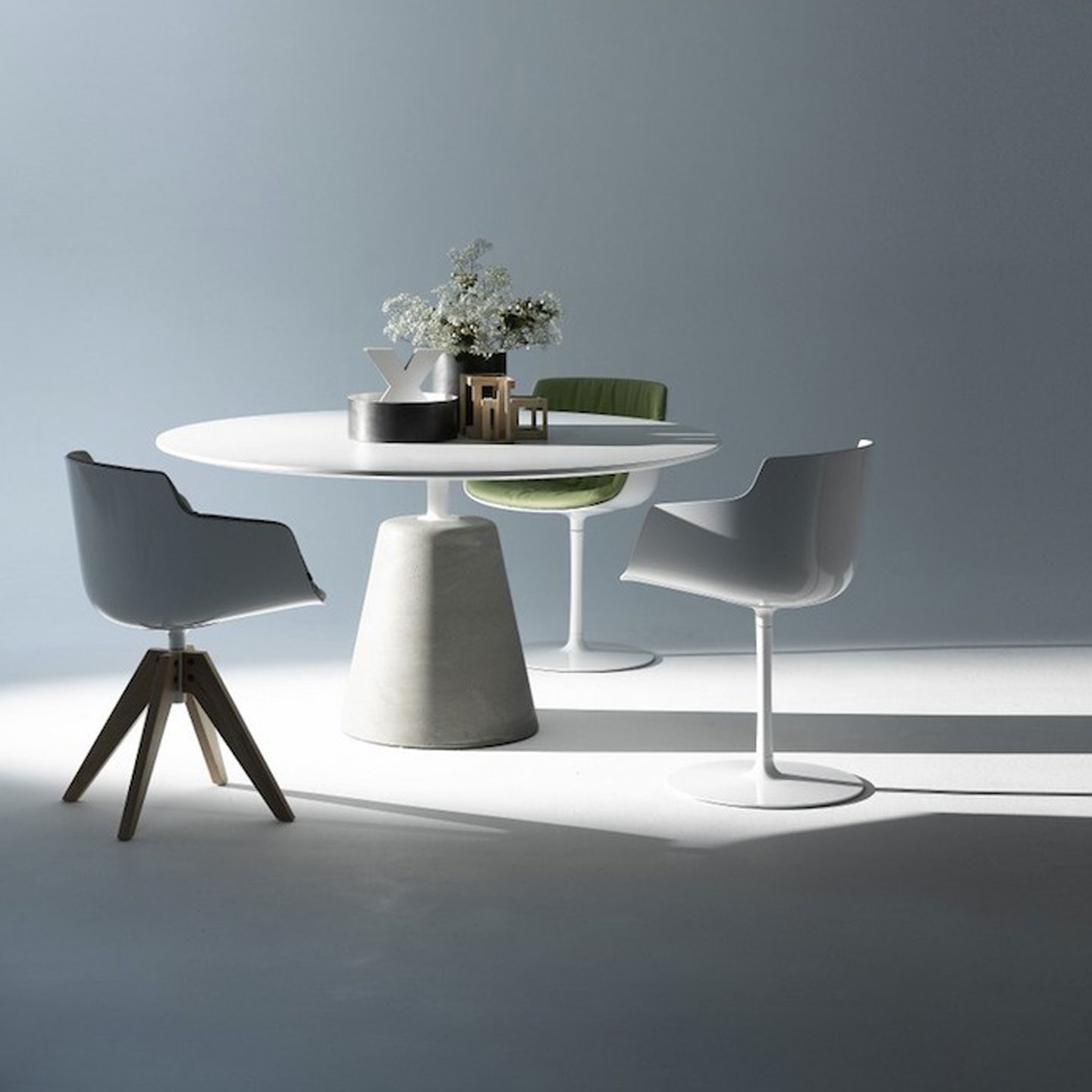 Rock Dining Table 140cm