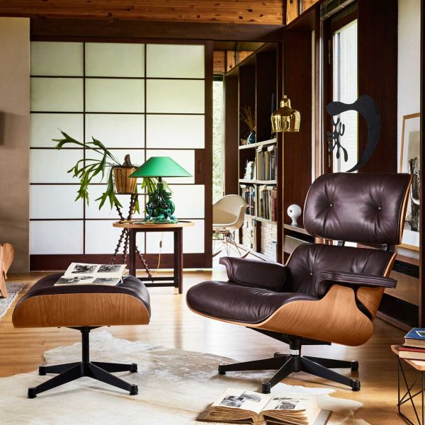 Image result for Eames Lounge Chair (1956) used in a n office