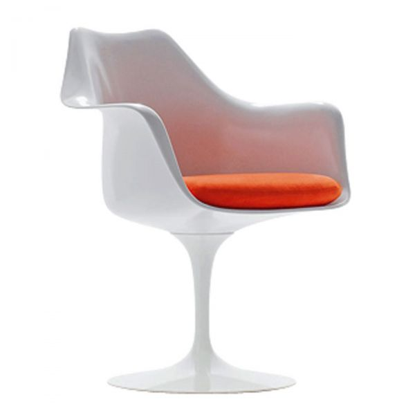 Tulip Armchair With Seat Pad