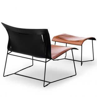 Cuoio Lounge Grand Armchair by EOOS from Walter Knoll - Aram Store