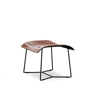 Cuoio Footstool by EOOS for Walter Knoll - Aram Store