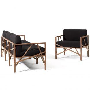 Allumette Easy Chair by Röthlisberger Kollektion - Aram Store