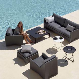 Diamond 3 Seat Sofa by Foersom & Hiort-Lorenzen for Cane-line - ARAM Store