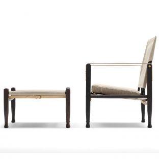 Safari Footstool by Kaare Klint for Carl Hansen & Son - ARAM Store