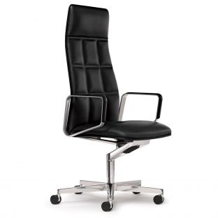 Leadchair Executive High Back Chair by EOOS for Walter Knoll - Aram Store