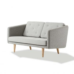 No1 Two Seat Sofa by Borge Mogensen for Fredericia Furniture - Aram Store