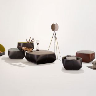 Isanka Ottoman 72cm by EOOS for Walter Knoll - Aram Store