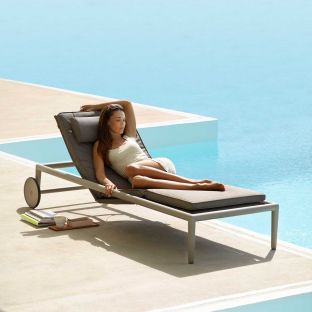 Conic Sunbed by Cane-line - ARAM Store