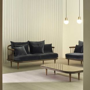 Fly 2 Seat Sofa from &Tradition - Aram Store