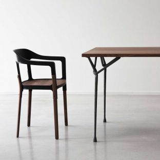 Officina Square Dining Table