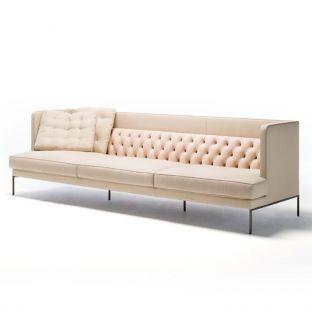 Lipp 2 Seat Sofa 235cm by Piero Lissoni for Living Divani - Aram Store