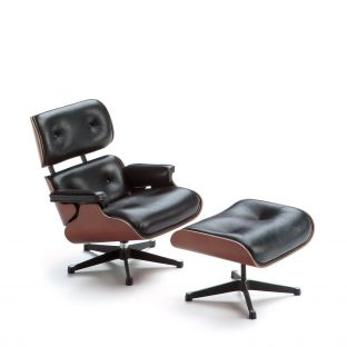 Miniature Eames Lounge and Ottoman by Charles & Ray Eames for Vitra - ARAM Store