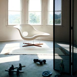 La Chaise chair by Charles & Ray Eames for Vitra - Aram Store