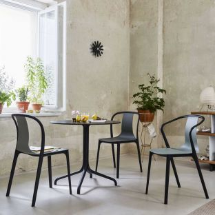Belleville Round Bistro Table by Ronan & Erwan Bouroullec for Vitra - ARAM Store