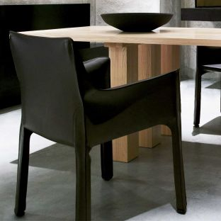 Cab 413 Arm Chair by Mario Bellini from Cassina - ARAM Store