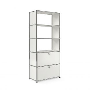 USM Shelving with Two Doors