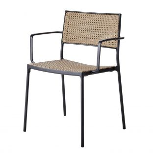 Less Arm Chair - French Weave