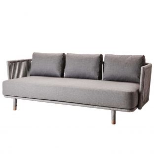 Moments 3 seat sofa from Cane-Line available at ARAM Store