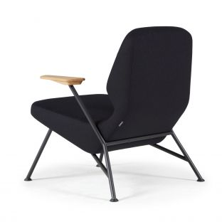 Oblique Metal Lounge Chair
